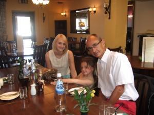 Caroline Ella and Grandpa